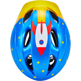 MET Buddy Casque Enfant, blue rocket